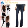 Women`s Boot Flare Custom Made Jeans (HX-N432)