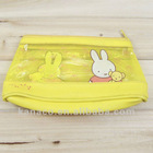 color pvc zipper pencil pouch stationery bag case