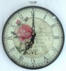 Plastic wall clock,quartz wall clock,cheap plastic wall clocks