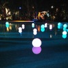 rechargeable waterproof led light floating ball