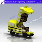 Injection moulding plastic toy car