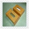 golden large acrylic tissue box