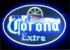 corona oval LED acrylic crystal wall mounted light box