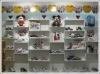 metal shoe rack display/fashionshoe lasting stand