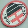 AC milan club pvc cup mat