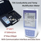 Pocket TDS Conductivity and Temp Multifuction Meter