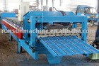 Color steel Glazed step tile profile roll forming machine