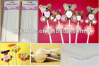 wholesale white paper stick for lollipops and cake pops