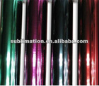 Heat transfer metallic solvent print reflective vinyl