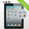 Crystal clarity high transparent screen protector for ipad2