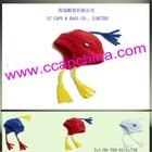 2012 fashion baby cute flap tassel hat ccap-0092
