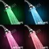 New Bathroom Smart Water Temperature Detectable Color overhead Shower