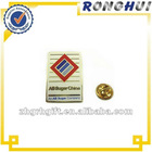 manufacturer custom lapel pin with rectangle