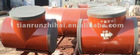 abrasion resistant welded steel elbow tee pipe