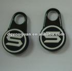 PVC zipper slider