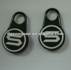 PVC zipper slider