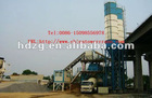 HZS90A stationary concrete batching plant in China