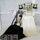 D2120 Salable! polyester/rayon fashion decorative curtain tassel