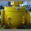 Forged steel top entry trunnion ball valve