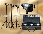 Professional studio strobe lighting kit
