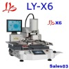 High-tech LY-X6(700A) bga rework station for all forms of bga encapsulation, excellent reballing machine