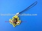 Promotional soft PVC mobile phone pendant