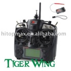 FS 2.4G 9CH Radio RC transmitter receiver Helicopter