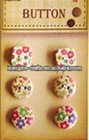 Creatology flora wooden buttons for paper craft