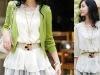 new design colourful ladies belt