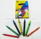 8 Colours Wax Crayons