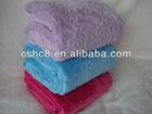 Cut Flower Flannel Blankets
