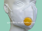3 ply CE EN 149 nonwoven face mask respirator with valve