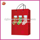 Fashion chirstmas stocking paper gift bags with your logo