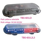 Big power led light mini bar with cigarette plug flash patterns selectable multi-voltage