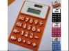 Promotional foldable digital calculator