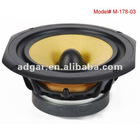 high sensitivity home audio bass speaker