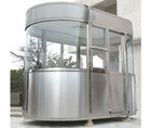 prefab sentry, sentry house, kiosk, security guard house