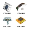 Solar road stud light