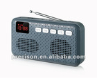 AM/FM/SW multi band radio with speaker and LCD display