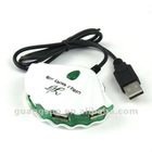 Pearl 4 Port USB 2.0 Hub For PC Laptop GS-D0001