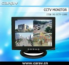 15''4 Quad LCD CCTV Car Monitor