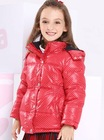 girl polka dot down jacket
