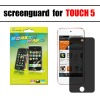 screen shield/screen word/privacy screen protector for ipod touch 5 screen protector