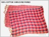 COTTON OR POLYESTER OR VISCOSE YARN DYED WOVEN BEACH PAREO SARONG