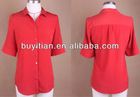 lady's fashion blouse for formal style