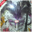 ostrich feather mask,cock feather mask