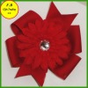 Dots ribbon bow barettes for girls / kids hair accessories (FB013414)