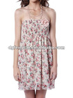 hot sale 2011 printed fashion dress designs for women's