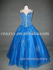 Factory direct sale high quality 100% same as picture real made Prom Dress