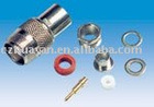 TNC PLUG CLAMP TYPE TEFLON INSULATION